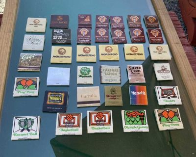 Nice collection of vintage match books