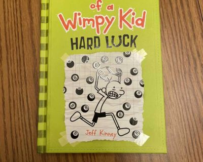 Diary of a Wimpy Kid - Hard Luck - hardcover