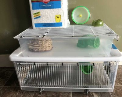 Small animal/hamster/gerbil/mouse cage