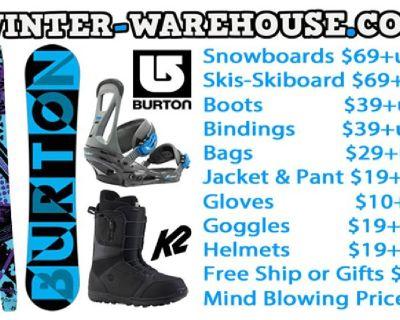 Snowboard,Skis Sale