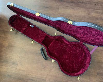 FS: TKL 8925 Professional Arch-Top Single Cutaway LP Style Guitar Case - Fits Les Paul