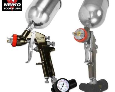 2.0mm Hvlp Air Gravity Feed Spray Gun Primer Painting Pro Compressor Shop Tools