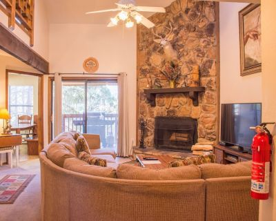 Family condo with private hot tub, extended deck, grill and AC. - Ruidoso