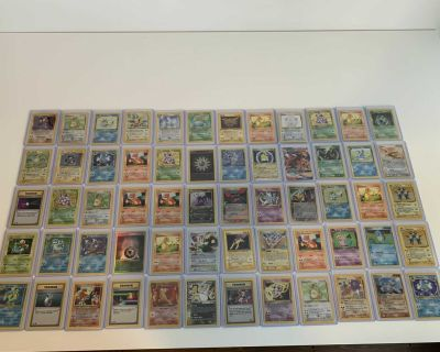 Old rare/holographic Pok mon cards