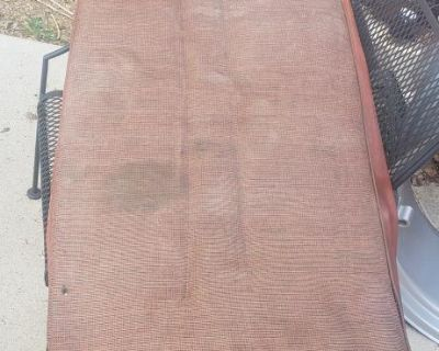 rear seat bottom cover and padding used