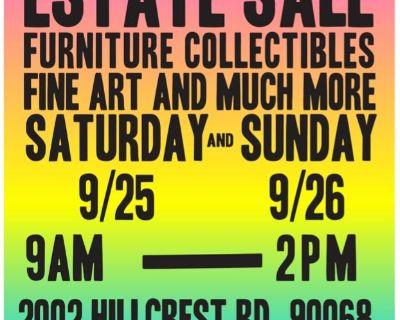 Estate Sale Hollywood Hills