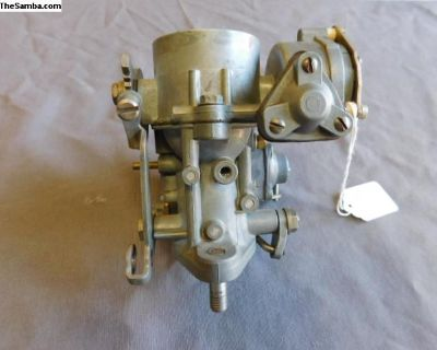 Solex 28 Pict-1 German Round Bowl Carburetor