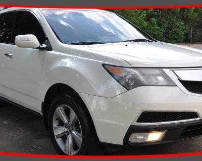 2012 Acura MDX Technology with Entertainment Package
