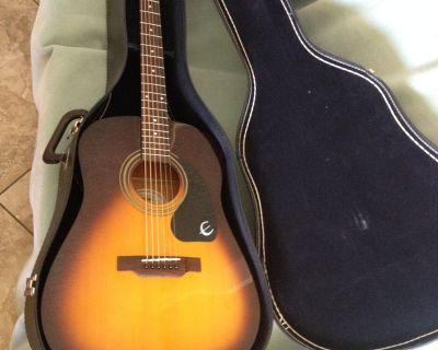 Epiphone Soft Acoustic Guitar Case. Good Condition. $25.00