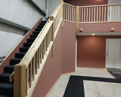 Upstairs at Hangar Tango One - Butler County