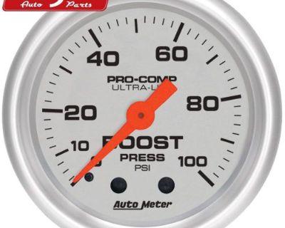 Auto Meter 4306 Ultra-lite; Mechanical Boost Gauge