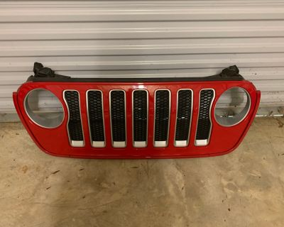 North Carolina - 2019 Jeep Wrangler Firecracker Red Grille
