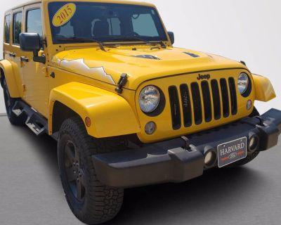 2015 Jeep Wrangler Wrangler X