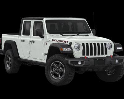 New 2021 Jeep Gladiator Rubicon 4WD Crew Cab Pickup