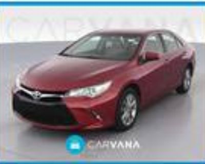2017 Toyota Camry Red, 40K miles