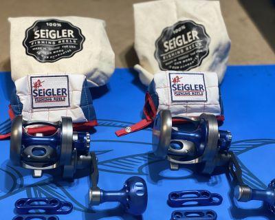SEIGLER SG Silver/Blue -For Sale (2)