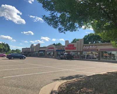 Prime storefront space for lease along Diffley Rd - busy entrance to major retailers