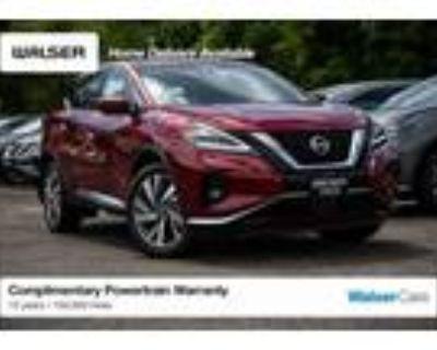 2021 Nissan Murano Red, new