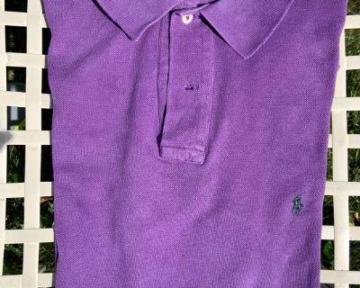 XL/X Long Ralph Lauren Polo SS Pique Shirt