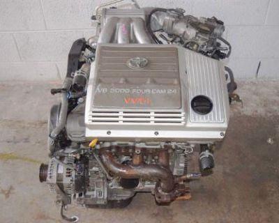 Jdm 1mz-fe Toyota Highlander 4x4 Lexus Rx300 V6 3.0l Vvt-i Awd Engine Jdm 1mz