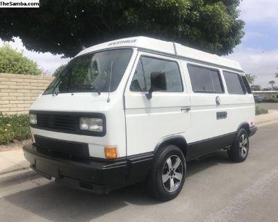 Rust Free 1989 Volkswagen Westfalia
