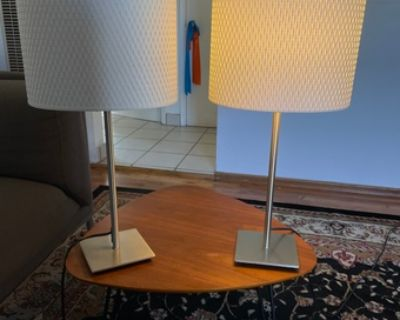 Mid-Century Modern Table Lamps (2)