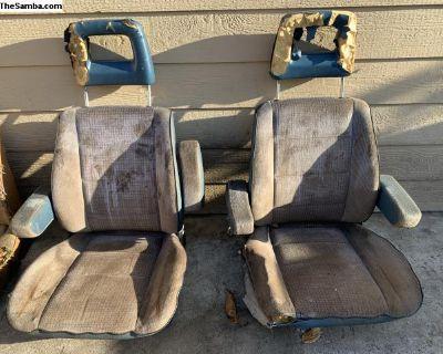 Vanagon front Seats