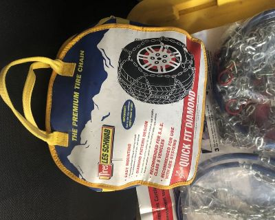 Snow chains Brand new
