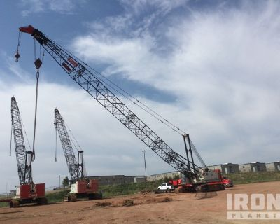 2011 Link-Belt 218 HSL Hylab 110 ton Lattice-Boom Crawler Crane