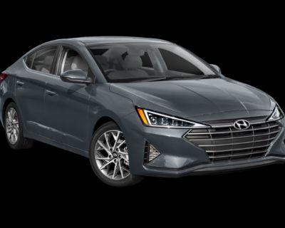 New 2020 Hyundai Elantra Limited FWD 4D Sedan