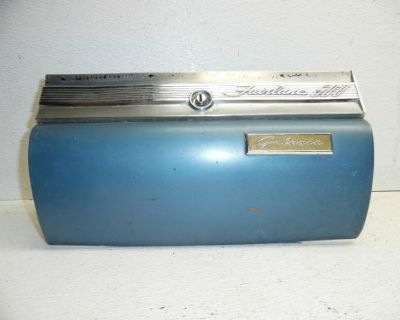 59 Ford Fairlane Galaxie 500 Dash Glove Box Door Lid Cover Trim Molding Moulding