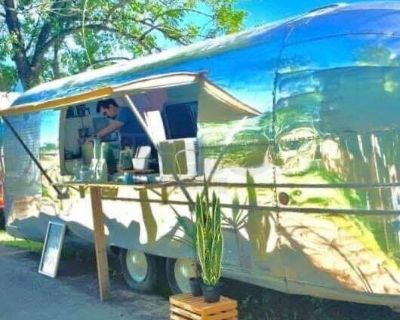 Health Department Approved 1971 Airstream Vintage Concession Trailer