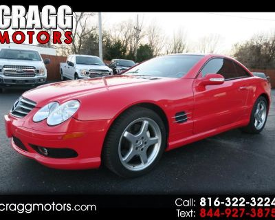 Used 2003 Mercedes-Benz SL-Class SL500 Roadster