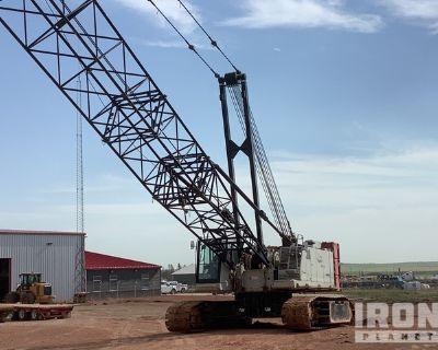 2009 Link-Belt 218 HSL Hylab 110 ton Lattice-Boom Crawler Crane