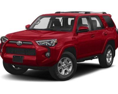 New 2021 Toyota 4Runner SR5 Premium 4WD Sport Utility