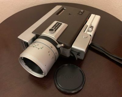Vintage Canon Zoom 318 Super 8 Video Camera