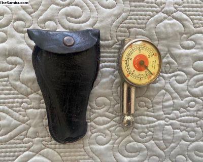 Original Messko Tire Gauge W/leather Pouch