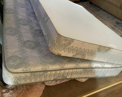 Free full size mattress and box spring