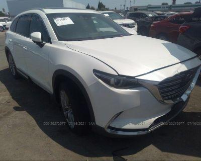 Salvage White 2016 Mazda Cx-9