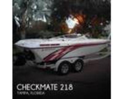 21 foot Checkmate Marine ZT 218