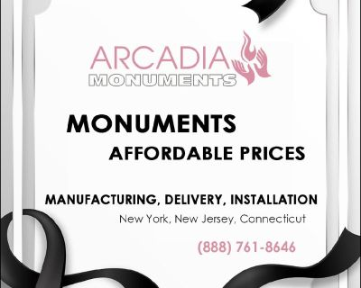 Monuments. Affordable prices.