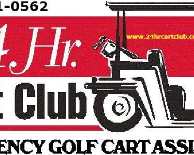 Golf Cart towing The Villages Fl Call 24 HR Cart Club (352) 330-1911