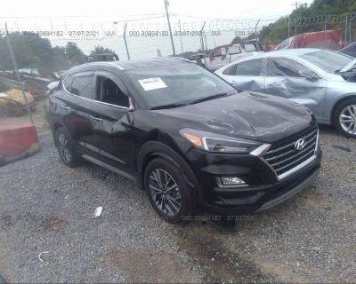 Salvage Black 2019 Hyundai Tucson