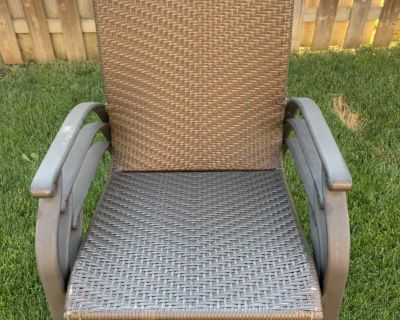 Outdoor patio chairs $20 each