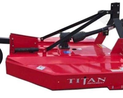TITAN IMPLEMENT 1205-RA 5' STD DUTY ROTARY CUTTER Tractors Jesup, GA