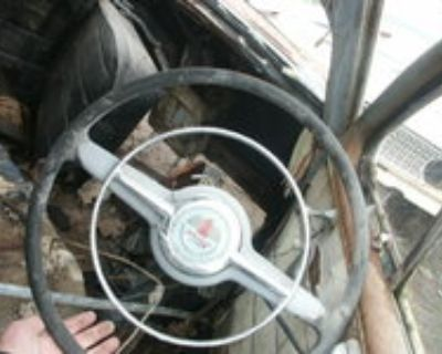 1942 -48 Ford Steering Wheel With Horn Ring