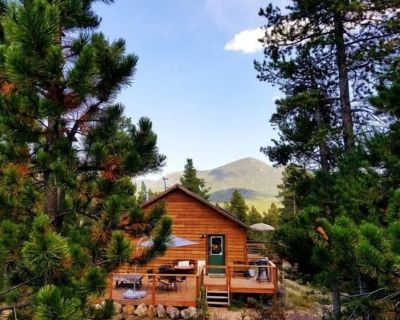 Rustic Mountain Escape Amazing Views on 1.5 acres Very Romantic or Great for the Family - Gilpin County