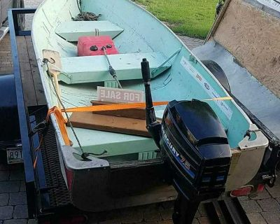 12 foot boat with 7.5 merc