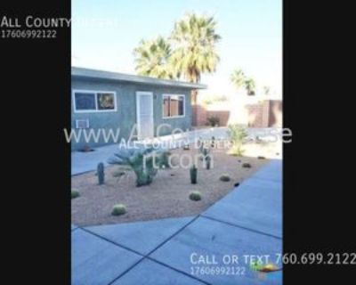 521 El Placer Rd #3, Palm Springs, CA 92264 2 Bedroom Apartment