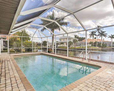 Cape Coral House w/ Private Pool, Dock & Views! - Caloosahatchee